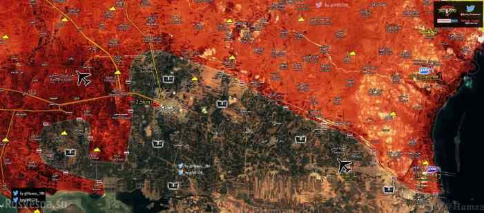 СРОЧНО: «Тигры» и ВКС РФ освобождают 4 поселка в Алеппо, окружая бастион ИГИЛ (КАРТА)