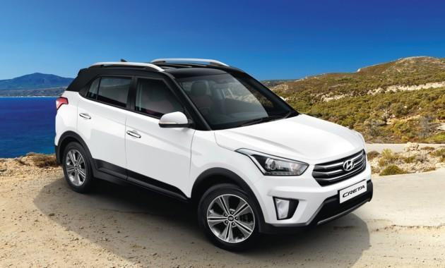 Представлена новая версия Hyundai Creta