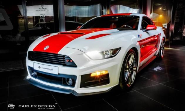 Ford Mustang получил уникальный интерьер
