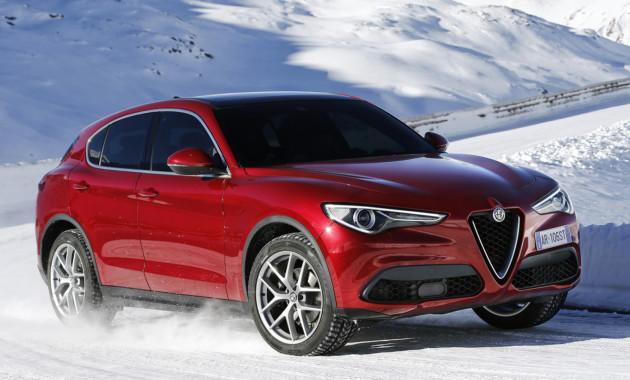 Alfa Romeo представила Stelvio с новыми моторами