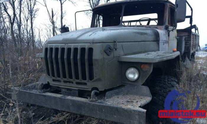 На Луганщине грузовик ВСУ подорвался на украинской мине, один погиб, двое ранены