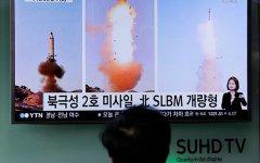 Сеул сообщил о запуске Северной Кореей «неопознанной ракеты»
