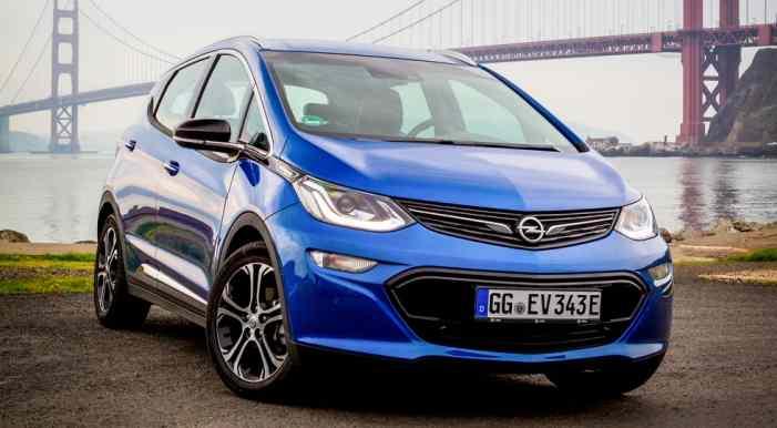 Известны цены электрокара Opel Ampera-e