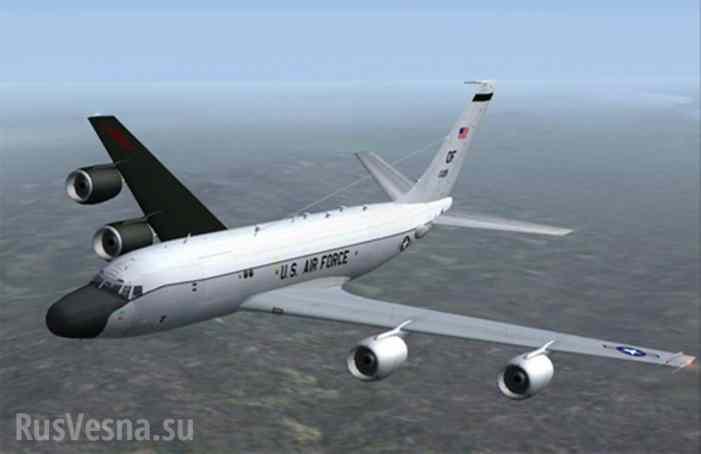 Самолеты НАТО провели активную разведку вблизи Калининградской области