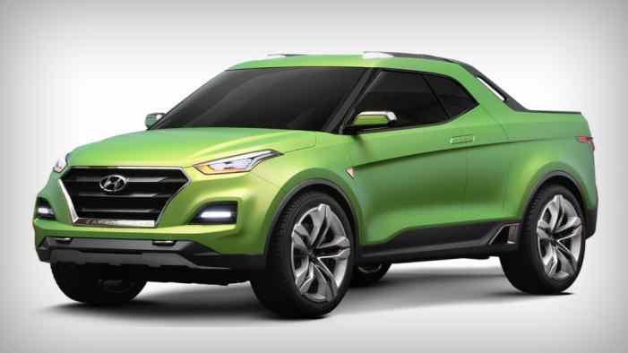 Hyundai не работает над пикапом Santa Cruz