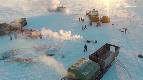 Каквоенная техника России покорила самый северный океан планеты (ФОТО)