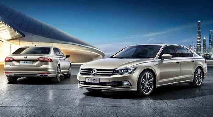 Флагманский седан Volkswagen стал гибридом