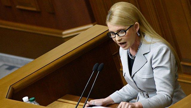Тимошенко назвала «г**ном» принятый Радой закон о рынке электроэнергетики