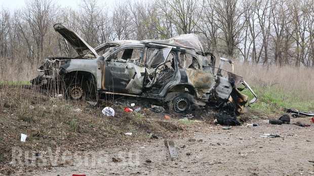ВАЖНО: В ЛНР сбили украинский беспилотник, снимавший передвижение машин ОБСЕ