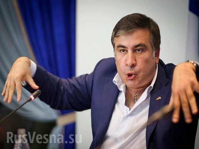 «Ты лизал мои ноги, милый», — Саакашвили поругался с чиновником в Одесской области (ВИДЕО)
