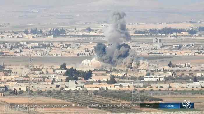 Смерть с небес: ИГИЛ публикует кадры атак самолетов и вертолетов ВКС России в Алеппо (+ФОТО, ВИДЕО)
