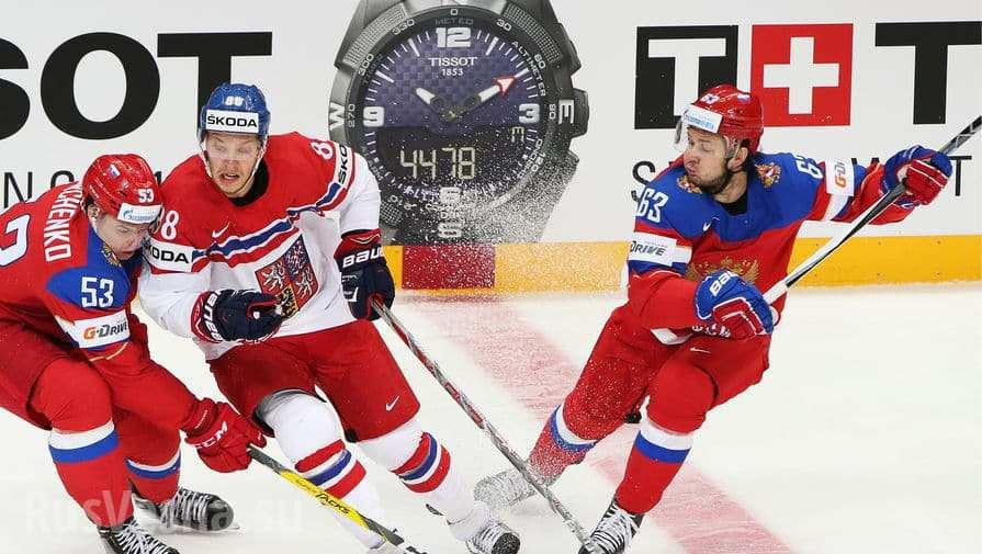 Сборная России разгромила Чехию в ¼ чемпионата мира (ВИДЕО)