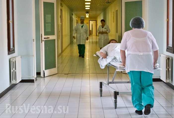 Типичная Украина: в руках у мужчины взорвался патрон от ракетницы