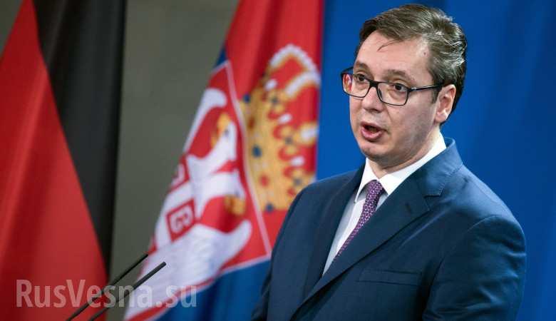 Премьер Сербии поздравил россиян с Днем Победы на русском языке (ВИДЕО)