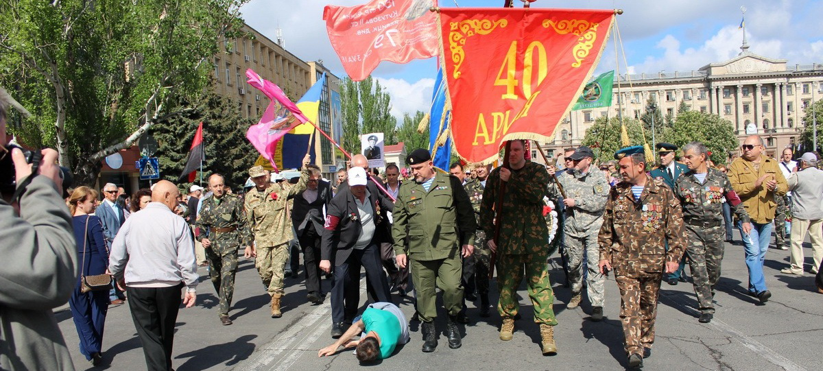 Главный итог 9 мая: Оказалось, что украинских нацистов можно бить