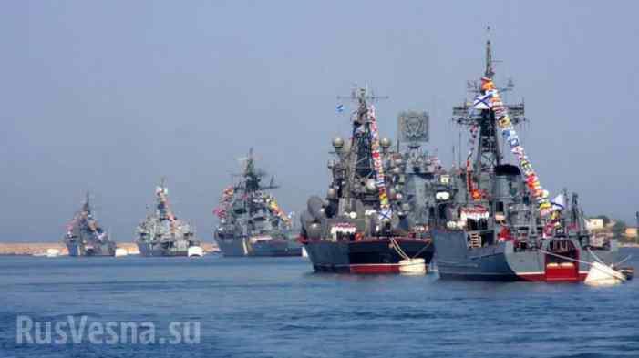 Балтийский флот возвращается в Атлантику
