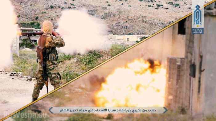 Чеченские боевики передают опыт войны с российской армией спецназу «Аль-Каиды» в Идлибе (ФОТО)