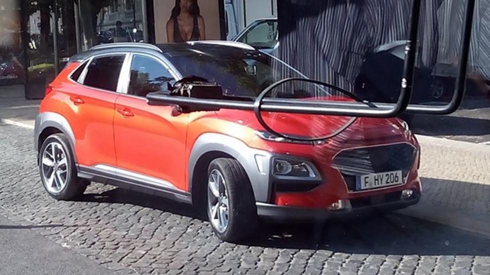 Первое фото нового кроссовера Hyundai Kona