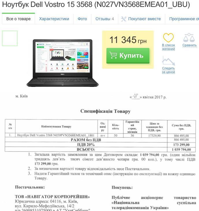 Киевская журналистка обнародовала документы, свидетельствующие о масштабах «распила» на «Евровидении»