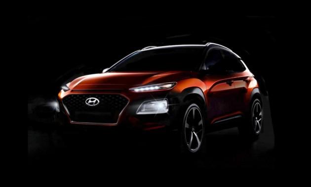 Названа дата премьеры нового кроссовера Hyundai Kona