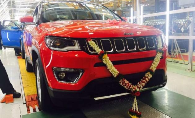 В Индии стартовало производство нового Jeep Compass