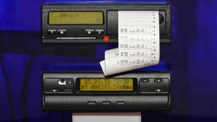 Таксистов хотят контролировать с помощью тахографов