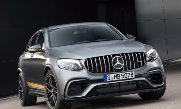 Названы цены на мощные кроссы Mercedes-AMG GLC