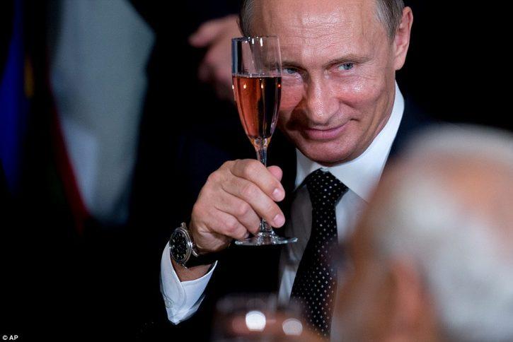 Путин выбрал в Крыму самое дешевое вино
