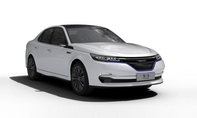 NEVS показала седан и кроссовер на базе модели Saab