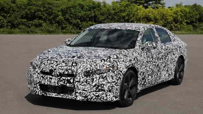 Фото нового Honda Accord и информация о моторах
