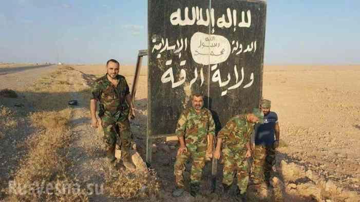 Блицкриг: «Тигры» и ВКС РФ освободили от ИГИЛ 14 поселков за день, и 1300 км² на пути к Ракке за 2 недели (ФОТО, КАРТА)