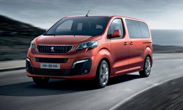 Оглашены российские цены на бизнес-минивэн Peugeot Traveller