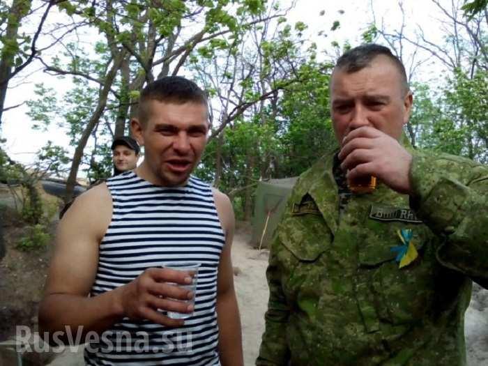 Военная полиция ВСУ доставила в больницу взвод пьяных военнослужащих