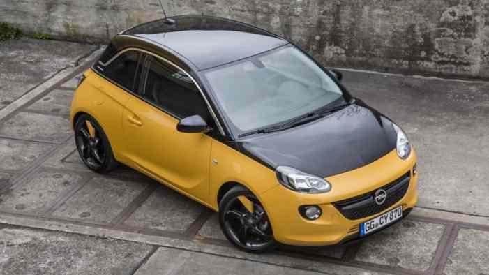Названы цены крошечного Opel Adam Black Jack