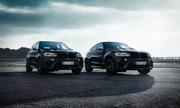 Известны рублёвые цены новых версий BMW X5 M и BMW X6 M