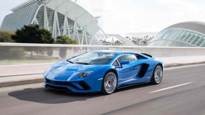 Продажи суперкаров Lamborghini продолжают расти