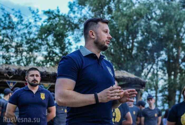 Воспитать нациста: «Азов» открыл новую смену детского лагеря (ФОТО, ВИДЕО)