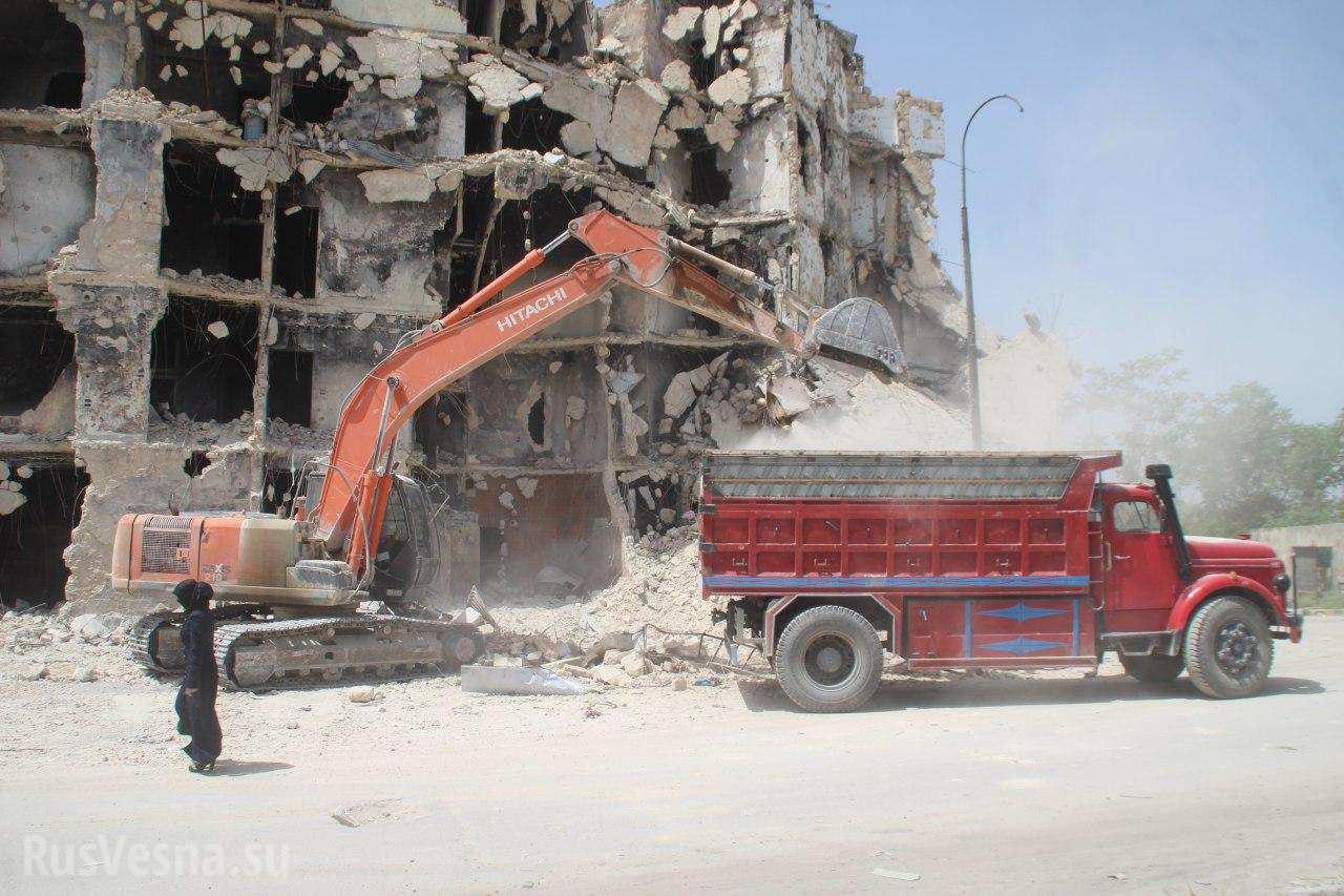 Свободный от банд Алеппо: Армия готова отразить атаки боевиков, жители вступают в САА и восстанавливают город — репортаж РВ (ФОТО)