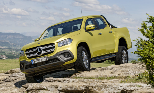 Mercedes-Benz представил свой первый пикап