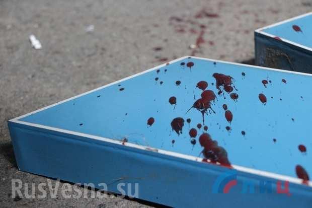 Врезультате теракта вцентре Луганска один человек погиб, пятеро ранены (ФОТО, ВИДЕО 18+)