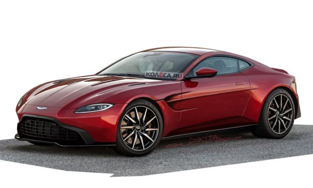 Новый Aston Martin Vantage
