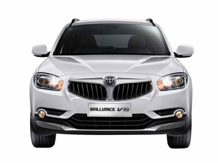 Обновленный Brilliance V5: объявлен старт продаж в России. Известна цена