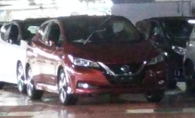 Новый Nissan Leaf: свежее фото и данные