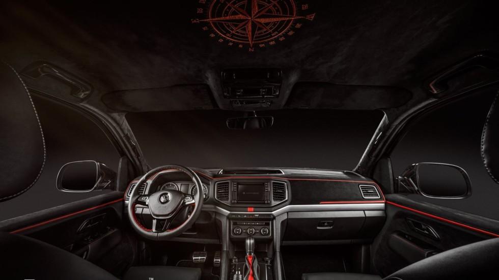 Пикап Volkswagen получил уникальный интерьер