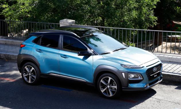 В Корее Hyundai Kona догоняет по популярности SsangYong Tivoli