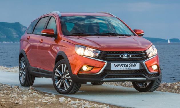 Самая дорогая версия Lada Vesta SW Cross будет дороже 800 000 рублей