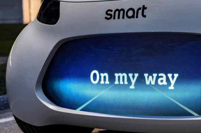 Первое изображение новой модели smart