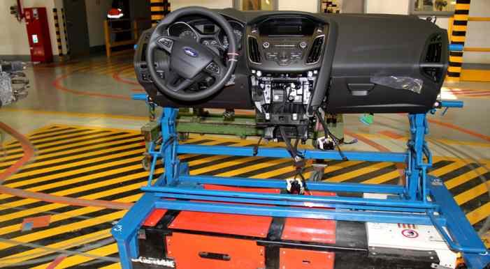 Роботы помогли собрать около 24 000 автомобилей Ford в России