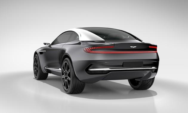 Рассекречены характеристики моторов кроссовера Aston Martin DBX