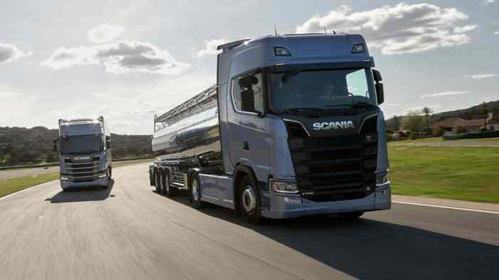 Российский рынок грузовиков вырос почти наполовину